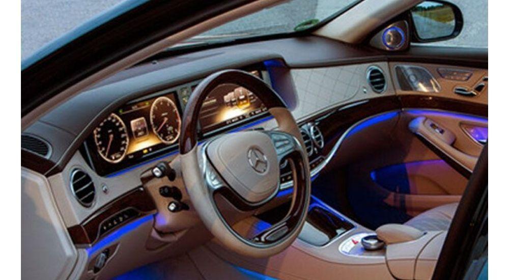 Luces LED interiores: nueva tendencia para automóviles que pueden equiparse fácilmente